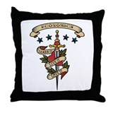 Love Economics Throw Pillow
