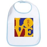 Civil War Love Bib