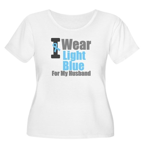 Prostate Cancer Women's Plus Size Scoop Neck T-Shi