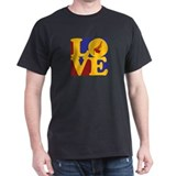 Bagpipes Love T-Shirt
