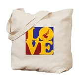 Bagpipes Love Tote Bag
