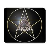 Pentagram & Celtic Knot Mousepad