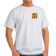 Backgammon Love T-Shirt