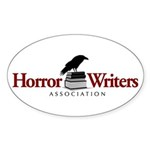 Horror Writers Association Oval Sticker (50 pk)