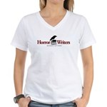 Horror Writers Association Women's V-Neck T-Shirt