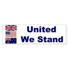 United We Stand Bumper Bumper Sticker