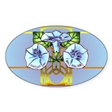 Triad Bloom Oval Decal