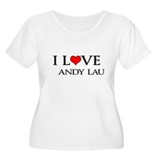 """I Love Andy Lau"" T-Shirt"