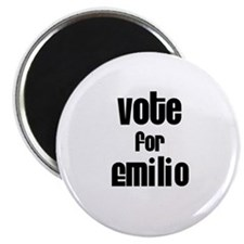 "Vote for Emilio 2.25"" Magnet (10 pack)"