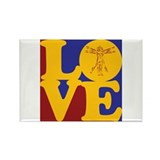 Anthropology Love Rectangle Magnet (10 pack)