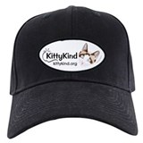 Kitty Kind Blue Eyes Snowshoe Cat Baseball Cap