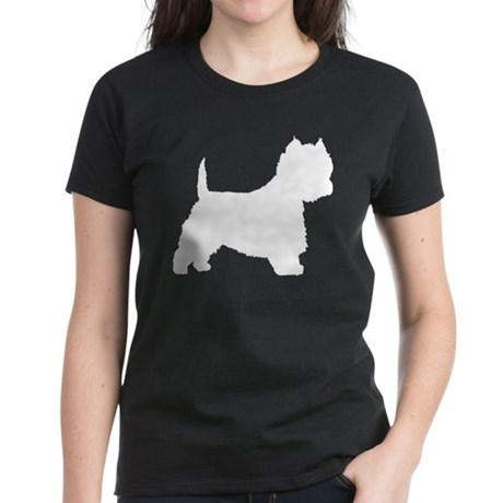 West Highland Terrier Women's Dark T-Shirt