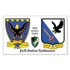 Field Station Rothwesten Rectangle Decal