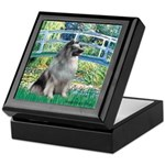 Bridge / Keeshond Keepsake Box