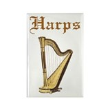 Joe's Harps Rectangle Magnet (10 pack)
