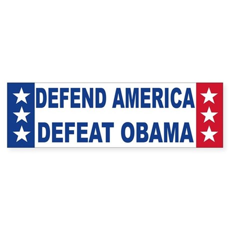 Anti obama Bumper Sticker (50 pk)