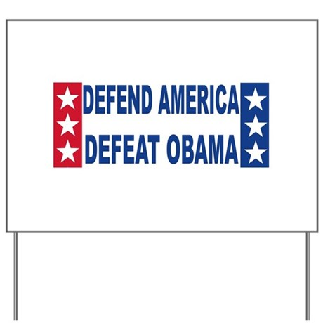 Anti obama Yard Sign