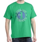 #1 BIOLOGY TEACHER (Blue) T-Shirt