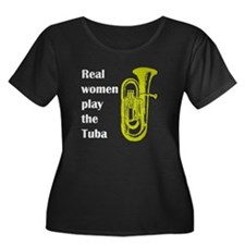 Real Women Play the Tuba Women's Plus Size Scoop N