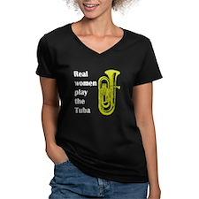 Real Women Play the Tuba Shirt