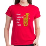 Real Women Play the Tuba Tee