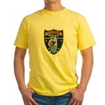Oregon Illinois Police Yellow T-Shirt