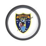 Oregon Illinois Police Wall Clock
