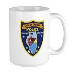Oregon Illinois Police Large Mug