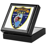 Oregon Illinois Police Keepsake Box