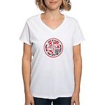 Alaska C.S.I. Women's V-Neck T-Shirt