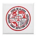 Alaska C.S.I. Tile Coaster