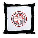 Alaska C.S.I. Throw Pillow