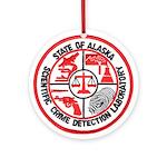 Alaska C.S.I. Ornament (Round)