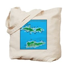 Funny U.s. virgin islands country Tote Bag