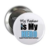 "Prostate Cancer Hero 2.25"" Button (10 pack)"