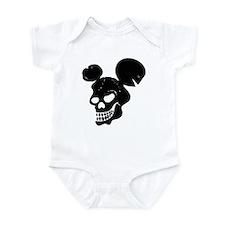 Mouse Skull Infant Bodysuit
