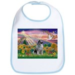 Autumn Angel/Keeshond Bib