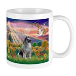 Autumn Angel/Keeshond Mug