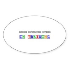 Careers Information Officer In Training Sticker (O