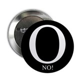 "O No! Anti-Obama 2.25"" Button"