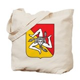 Sicilian Coat or Arms Tote Bag