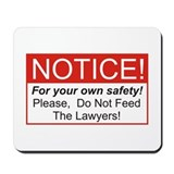 Notice / Lawyers Mousepad