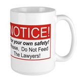 Notice / Lawyers Mug