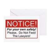 Notice / Lawyers Greeting Cards (Pk of 10)