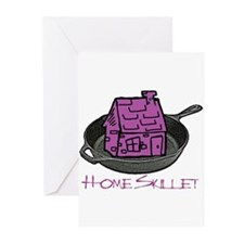Riyah-Li Designs Home Skillet Greeting Cards (Pk o