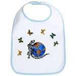 Gecko Friends Bib
