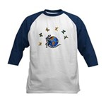 Gecko Friends Kids Baseball Jersey