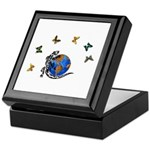 Tattoo Gecko Keepsake Box