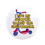 "Help The Environment 3.5"" Button"