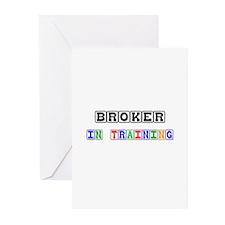 Broker In Training Greeting Cards (Pk of 10)